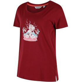 Regatta Filandra II T-Shirt Femme, black cherry
